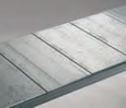 Galvanised Flat Steel Shelf Panels