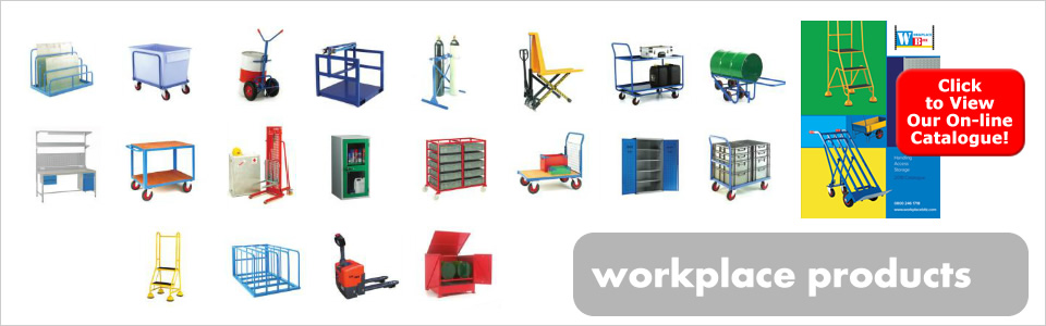 Workplace products from Storage Bitz - click to view our on-line workplace products catalogue